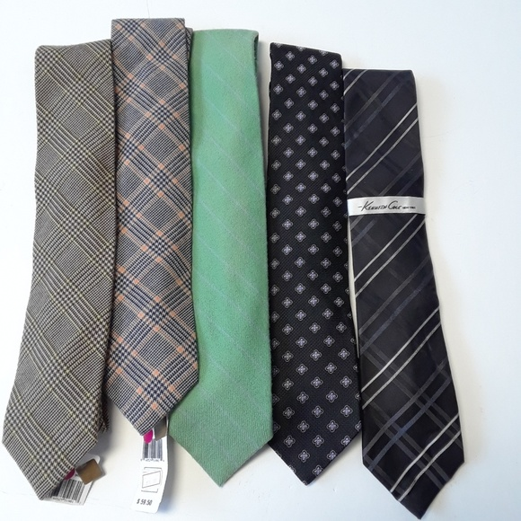 Kenneth Cole Other - NWT 5 ties assorted designers